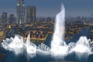 Самый большой в мире фонтан появится в Дубаи