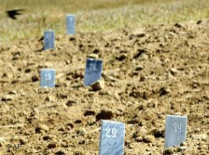 В Чечне начаты раскопки на месте захоронения 300 человек