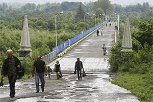 Абхазия закрыла границу с Грузией