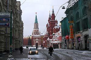 Строители пытаются уничтожить Кремль и Красную Площадь