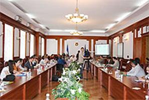Открытие молодежной летней школы прошло в Национальном педагогическом университете имени М.П. Драгоманова.
