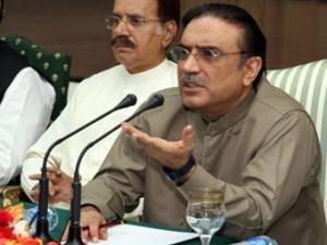 Вдовец Бхутто будет баллотироваться в президенты Пакистана