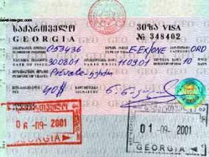 Грузия прекратила выдачу виз гражданам России