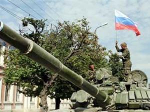Российские войска двигаются в сторону Тбилиси