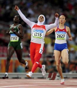 Спортсменка в хиджабе стала олимпийской чемпионкой