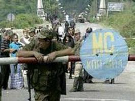 Российские войска заняли грузинское село Переви и открыли в нем КПП