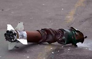 """Вот такие самодельные """"ракеты"""" не дают покоя израильским оккупантам"""