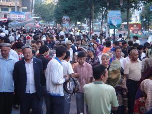 На улицах Кашгара