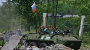 Российская армия освободила Цхинвали