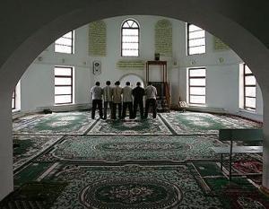 Мечеть в столице Кабардино-Балкарии Нальчике