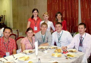 Участники III Международного форума татарской молодёжи в Казани