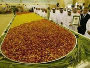 Арабское блюдо с финиками зарегистрировано в Книге рекордов Гиннеса