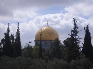 """Мечеть """"Купол скалы"""" в палестинской столице"""