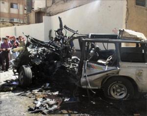 Редкий по мощности взрыв прогремел в Сирии. Фото: Аль-Джазира