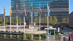 Американцы митингуют против Ахмадинежада перед зданием ООН