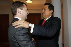 Чавес привез Медведеву приветы от лидеров Кубы, КНР и от Владимира Путина