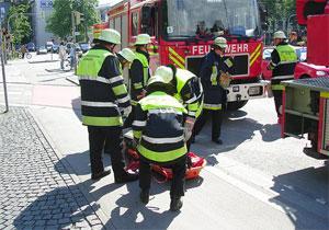 Немецких мусульман подожгли во время молитвы