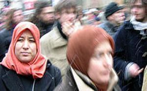 Винничанки в хиджабах