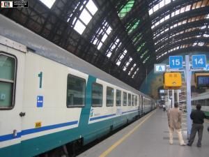 Вокзал города Милан