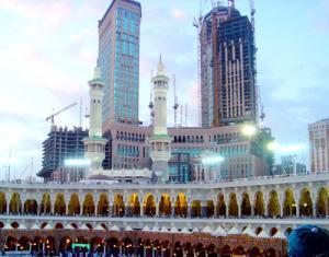 Вблизи Заповедной мечети в Мекке началось строительство нового объекта