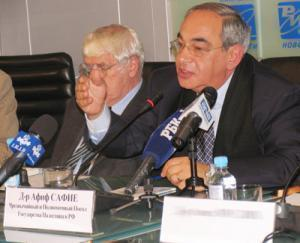 Ччрезвычайный и полномочный посол государства Палестина в Москве Афиф Сафие. Фото Islamnews