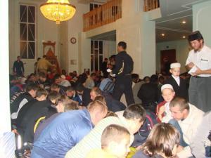 В Саранске поставлен рекорд посещаемости ифтаров