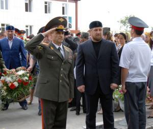 В Грозном открылось Суворовское военное училище имени Ахмата Кадырова