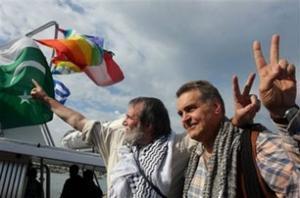 Международные правозащитники вновь прорвали блокаду в Газе