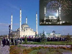 Кадыров: новая мечеть в Грозном станет гордостью России