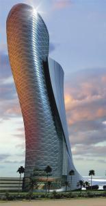 Строящаяся в Дубае башня войдёт в книгу рекордов Гиннеса как башня с самым большим наклоном в мире