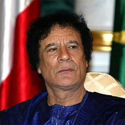 Каддафи едет в Москву