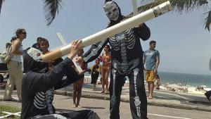 Бразильцы против распространения табака