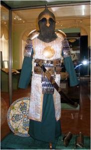 Доспехи золотоордынского воина времен хана Батыя