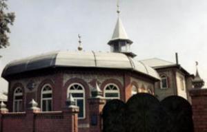 Мечеть в подарок  на юбилей