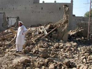 Американская авиация разбомбила жилой дом в Пакистане