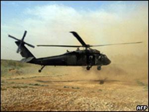 Вертолет НАТО обстрелял афганских союзников
