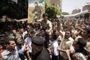 Демонстрация христиан в Египте