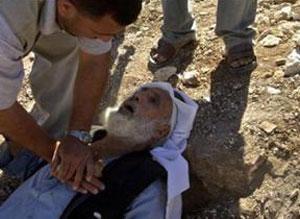 Пожилой палестинец скончался после жестоких побоев