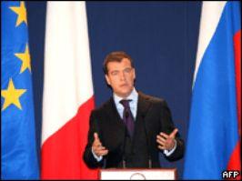 Медведев – Европе: Наши взгляды близки