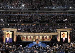 Предвыборное выступление Обамы