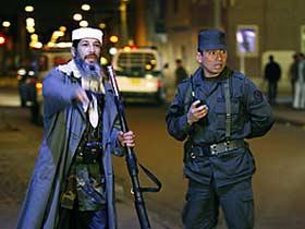 Усама Бен Ладен наводит порядок на улицах и провожает домой проституток