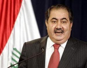 Министр иностранных дел Ирака Хошияр Зибари