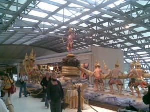 Из-за беспорядков в аэропорту Бангкока тайские паломники не могут отправиться в хадж