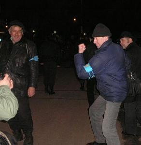 Православные дружинники патрулируют улицы Москвы