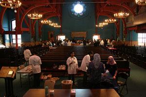 Американские мусульмане приняли участие в рождественских мероприятиях