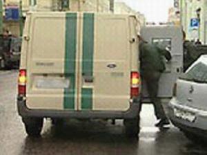 20 млн рублей стали добычей угонщика инкассаторского автомобиля в Москве