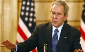 Буш попал в больницу
