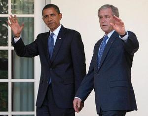 Обама будет следовать внешнеполитическому курсу Буша