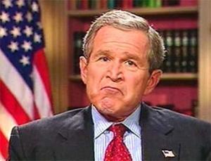 Журналист запустил в Джорджа Буша парой ботинок