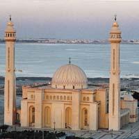 Диаметр купола Соборной мечети Бахрейна составляет 25 метров